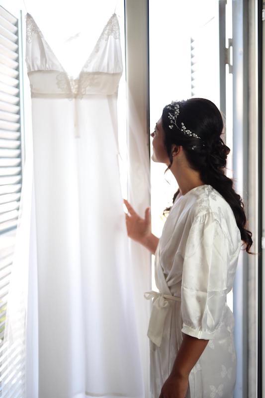 Abito da sposa in bianco 2